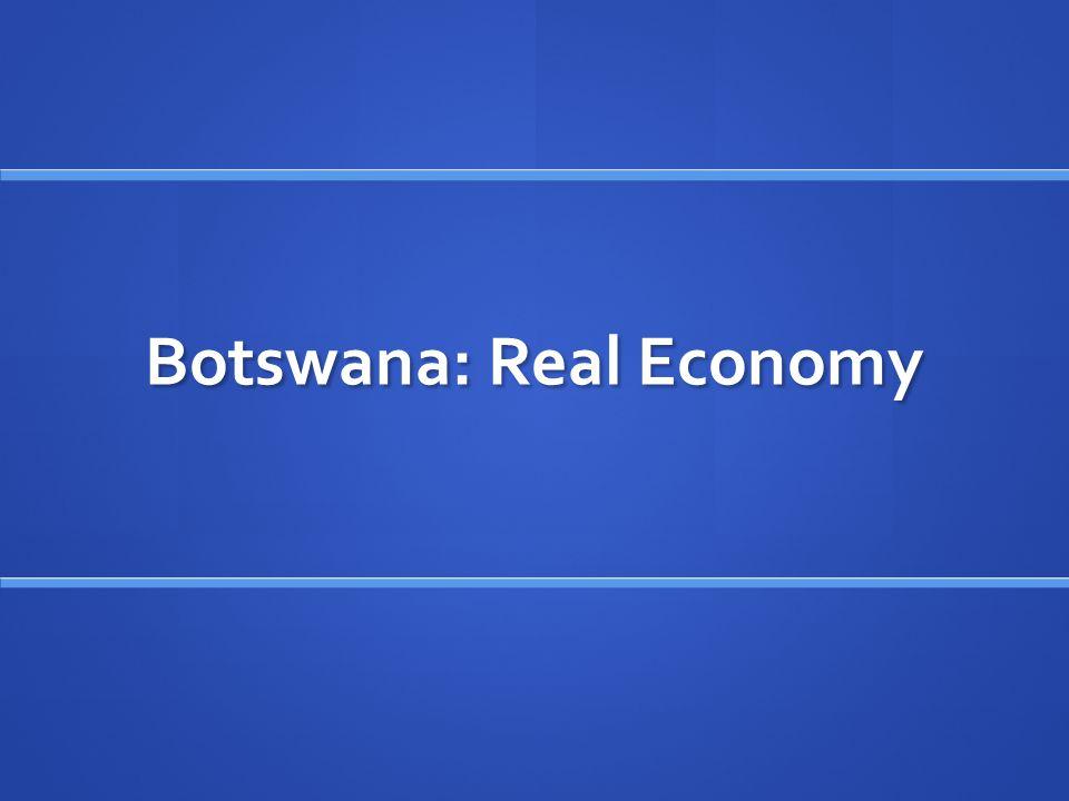Botswana: Real Economy