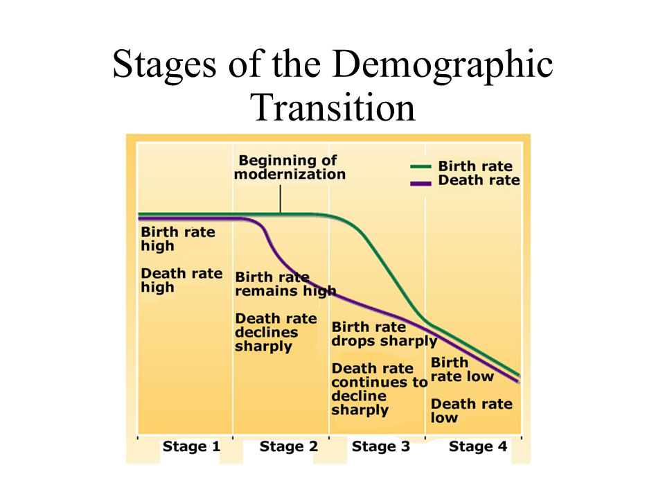 Stages of the Demographic Transition