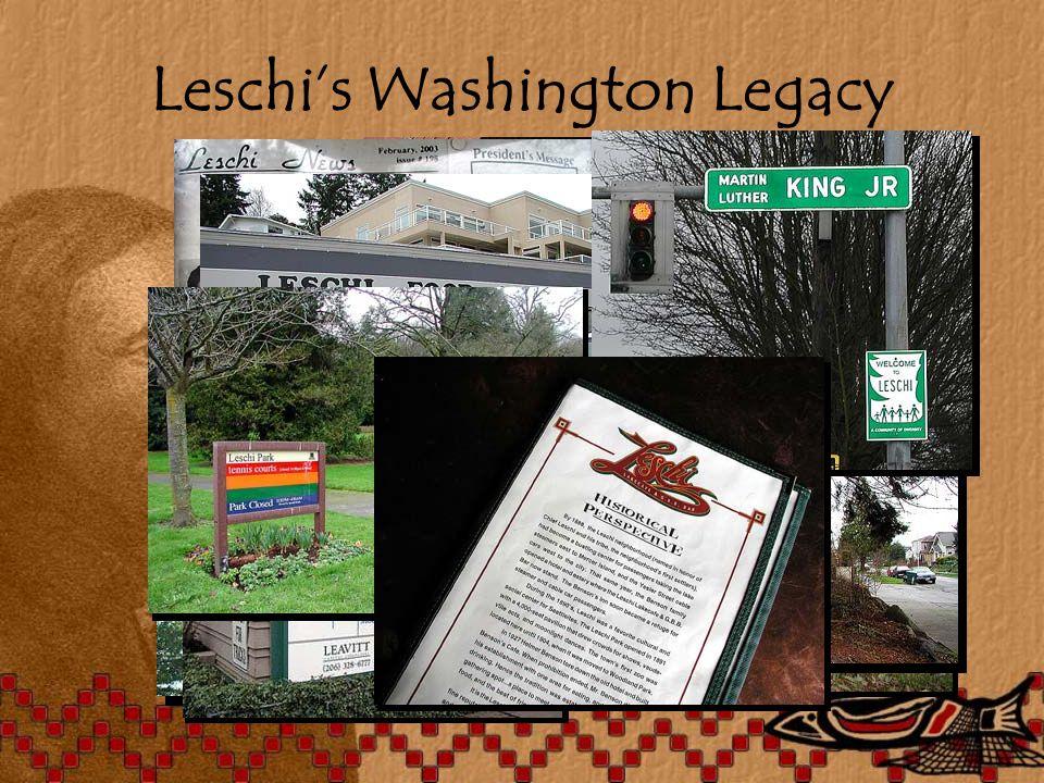 Leschi's Washington Legacy