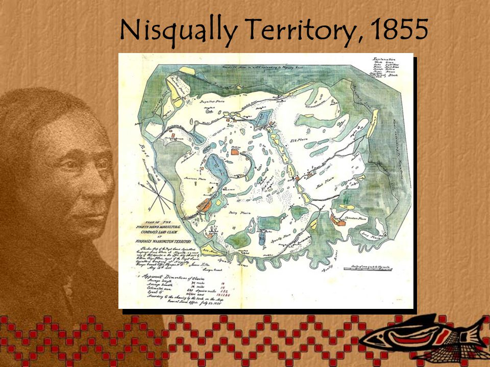 Nisqually Territory, 1855