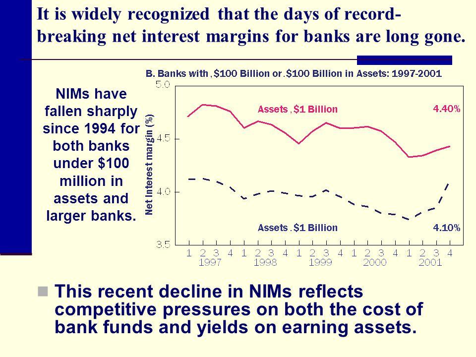 Noninterest expense The Uniform Bank Performance Report lists three components of noninterest expense: 1.