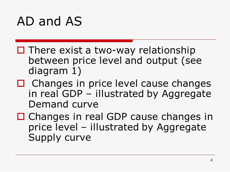 5 The Aggregate Demand Curve  First step in understanding how price level affects economy is an important fact When price level rises, money demand curve shifts rightward (because purchases become more expensive)  Shift in money demand, and its impact on the economy, is illustrated in Figure 2  Imagine a rather substantial rise in price level—from 100 to 140  Compared with our initial position, this new equilibrium has the following characteristics Money demand curve has shifted rightward Interest rate is higher Aggregate expenditure line has shifted downward Equilibrium GDP is lower  All of these changes are caused by a rise in price level  A rise in price level causes a decrease in equilibrium GDP