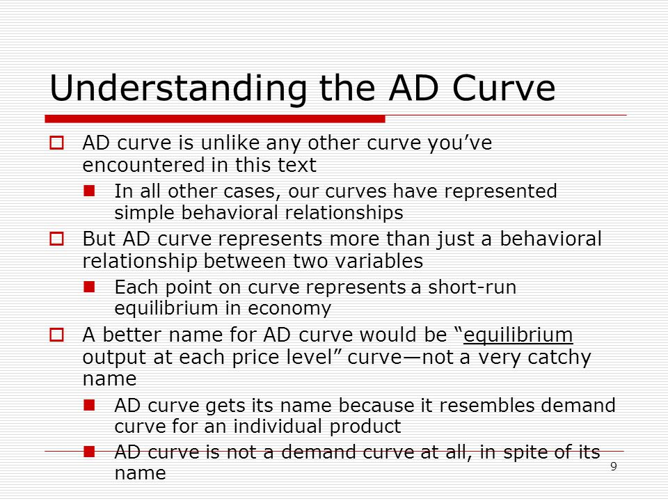 40 Other Demand Shocks  A positive demand shock—shifts AD curve rightward Increases both real GDP and price level in short-run  A negative demand shock—shifts AD curve leftward Decreases both real GDP and price level in short-run