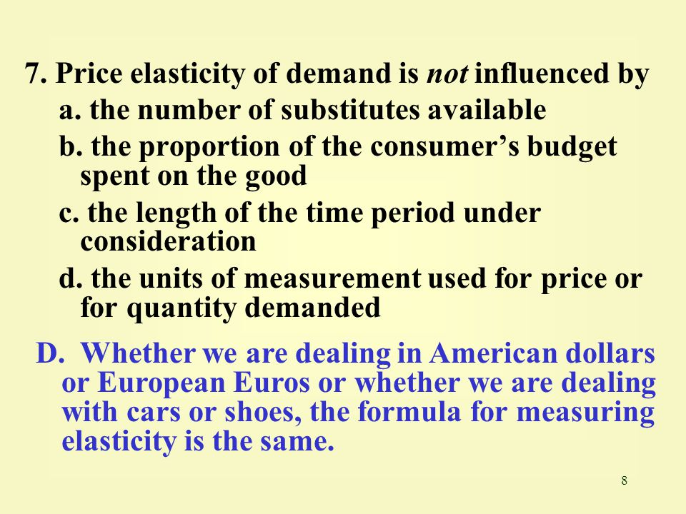 49 48.Cross-price elasticity of demand is used to determine whether a.