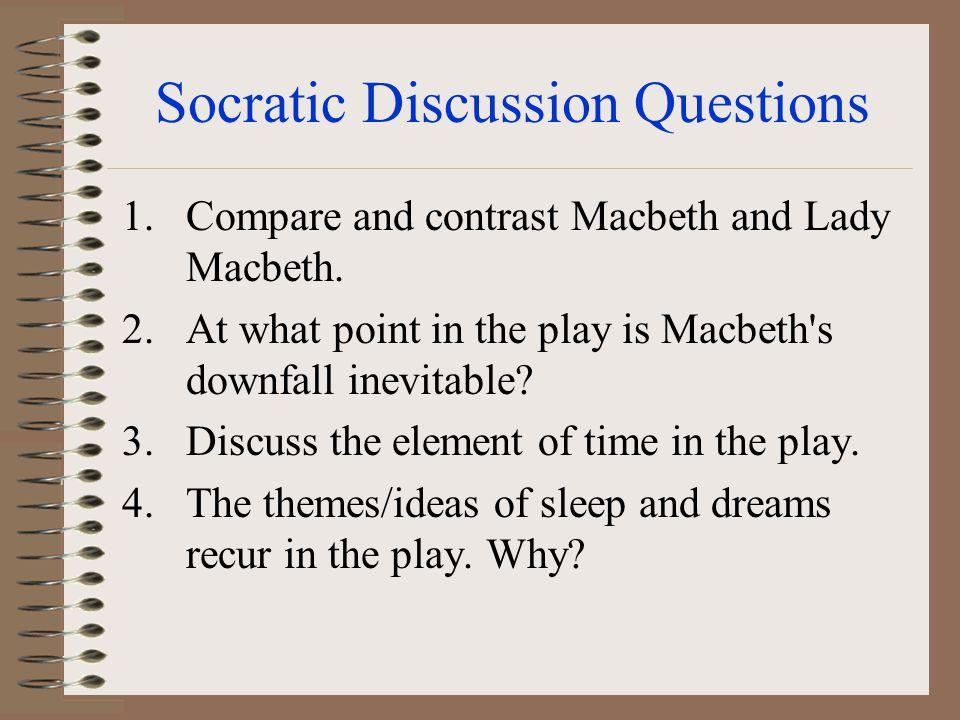 Socratic Discussion Questions