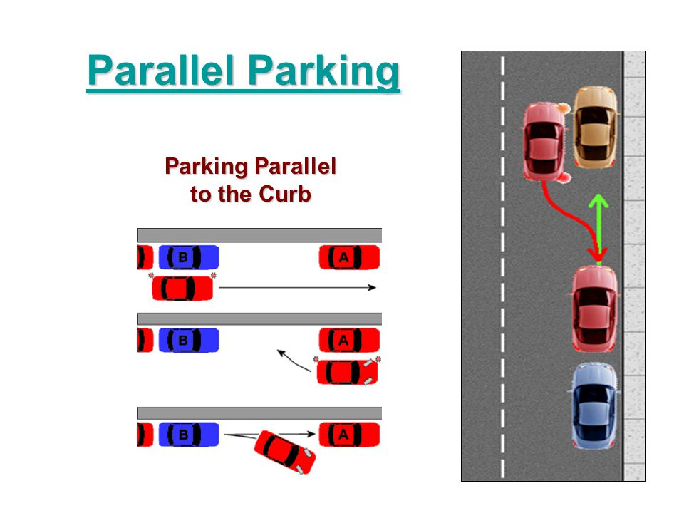 Parallel Parking Parallel Parking Parking Parallel to the Curb