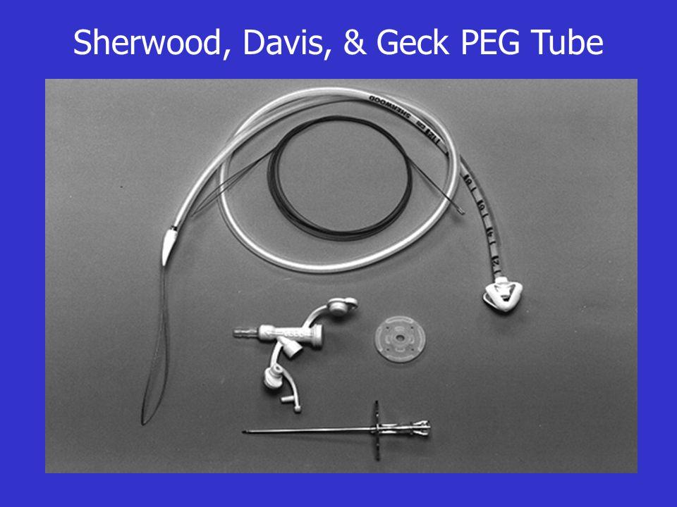 Sherwood, Davis, & Geck PEG Tube
