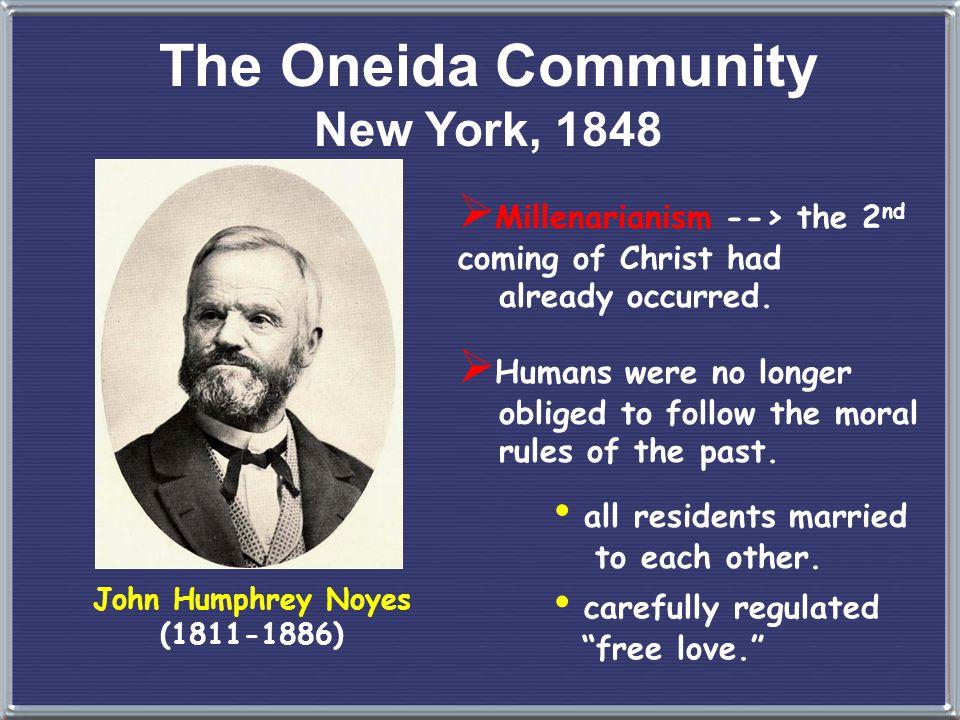 Utopian Communities The Oneida Community Brook Farm New Harmony Transcendentalists