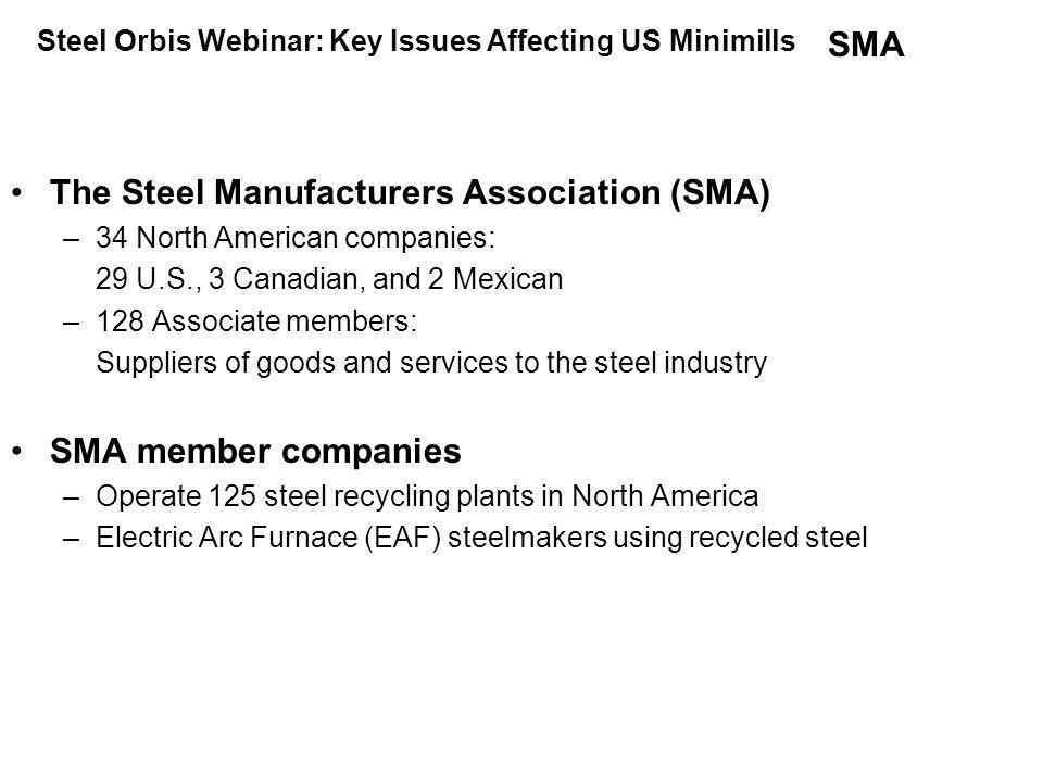 RMDAS  Ferrous Scrap Price Index Effective 12/20/09 Steel Orbis Webinar: Key Issues Affecting US Minimills
