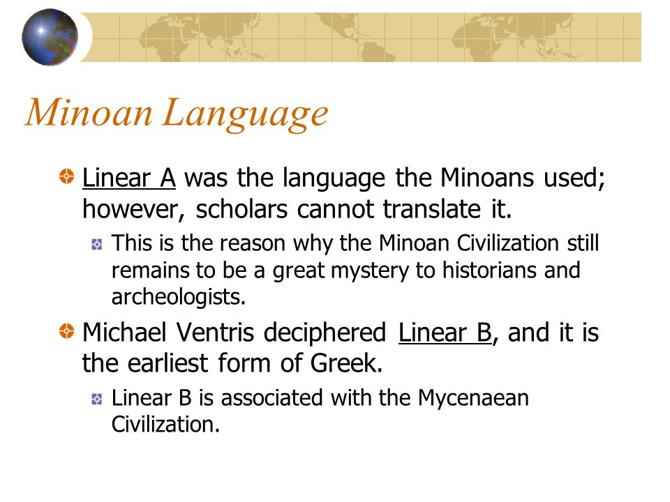 A Mysterious Disappearance After 1628 BC, much of the Minoan Civilization is reduced to ruins.