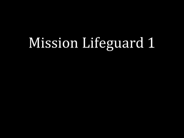 Mission Lifeguard 1