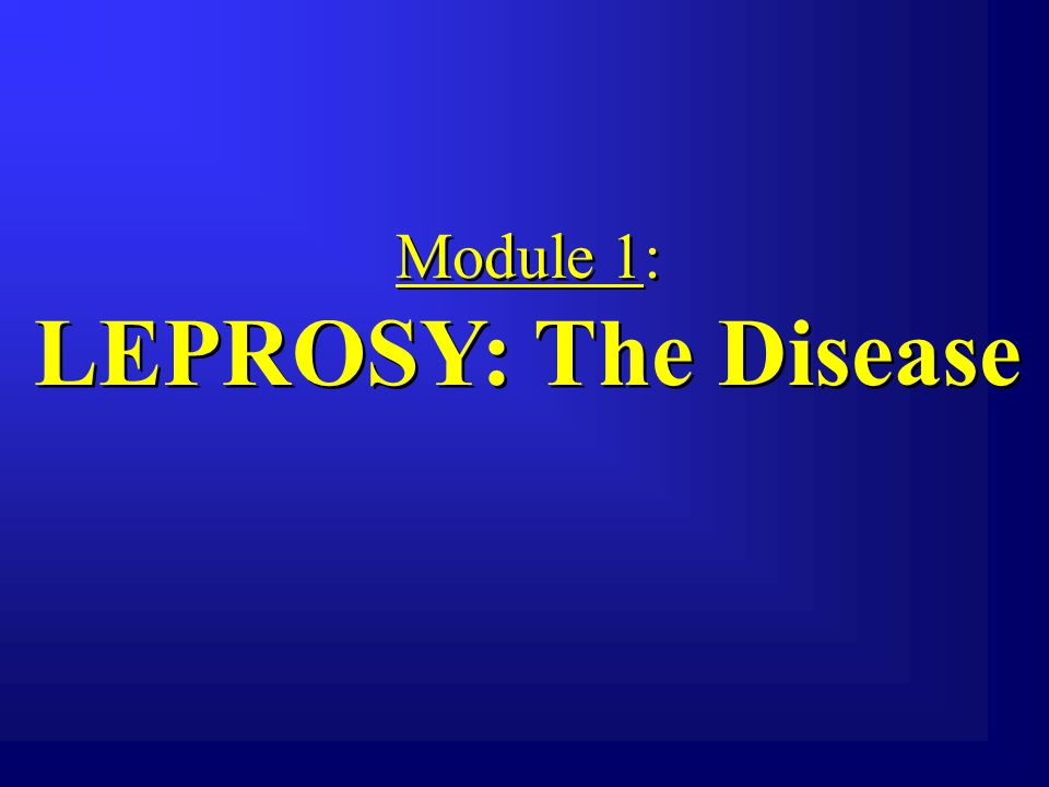 WHAT IS LEPROSY.