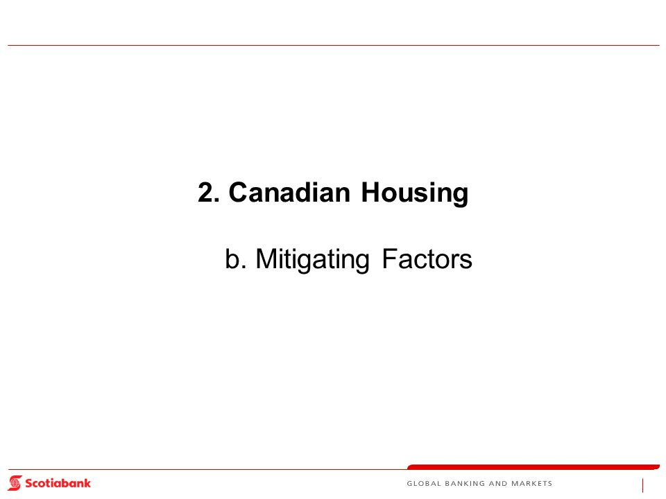 2.Canadian Housing b. Mitigating Factors