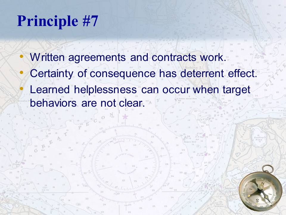 24 Principle #7 Responses must be predictable and controllable