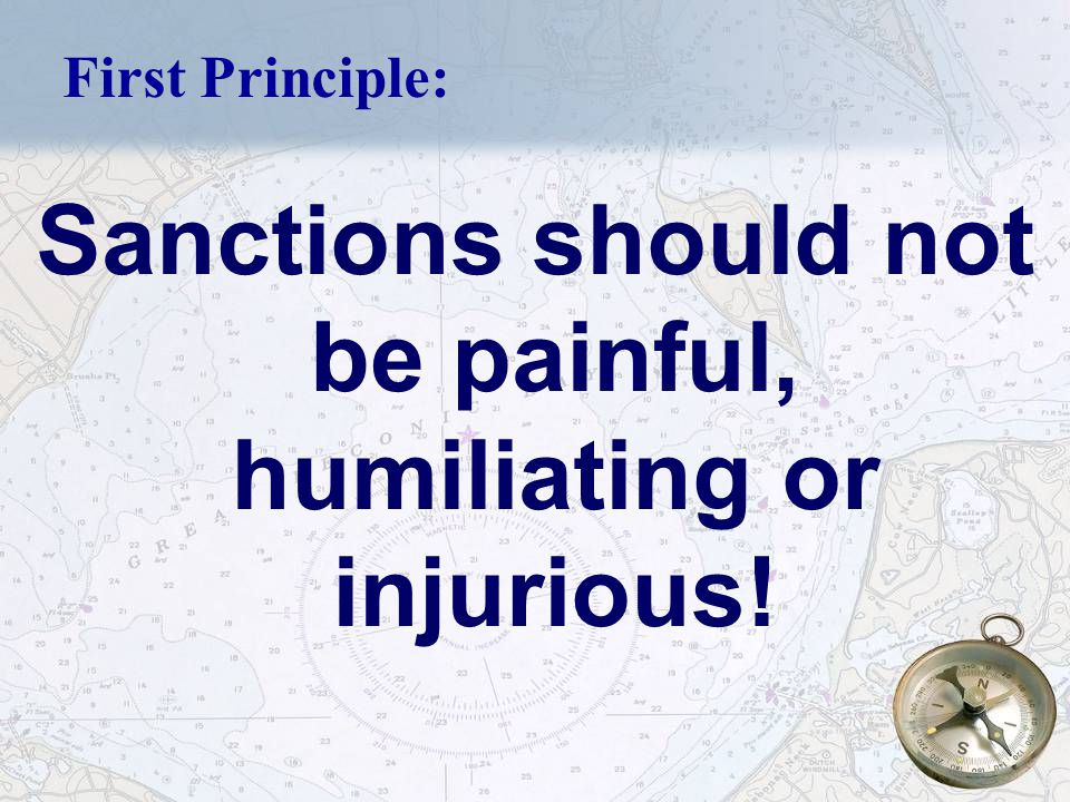 29 Principle # 9 Behavior does not change by punishment alone