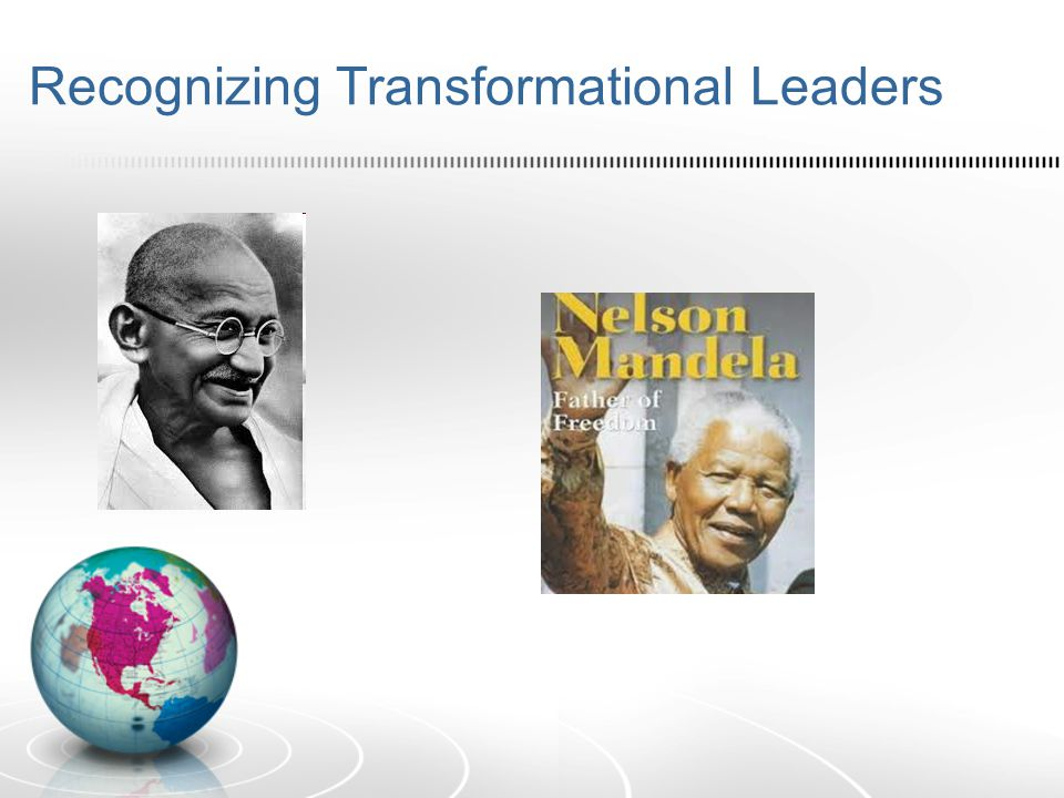 Recognizing Transformational Leaders