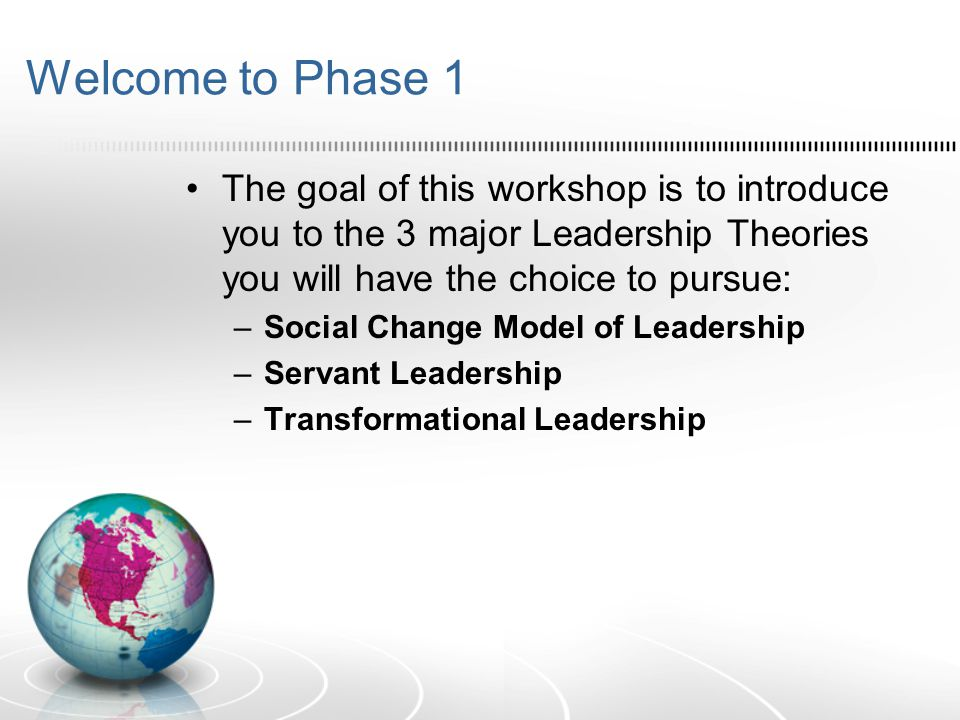 The Social Change Model (SCM) of Leadership Briana Chang Lin Lawson