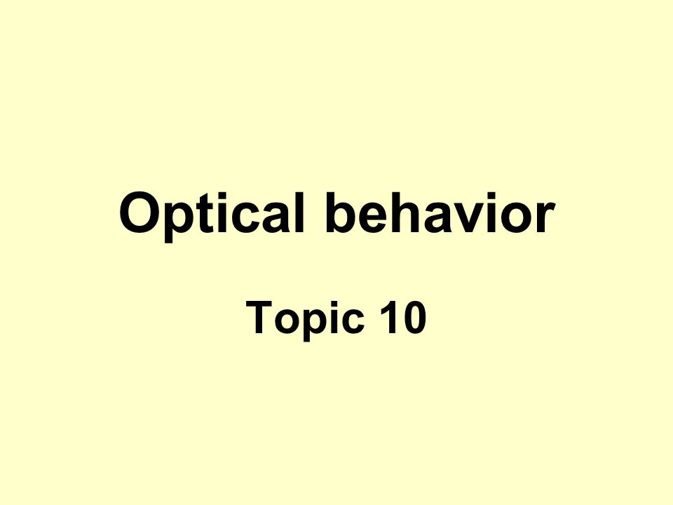 Example 20.1 SOLUTION To prevent leakage of the beam, we need the total internal reflection and thus the angle θ t must be at least 90 o.
