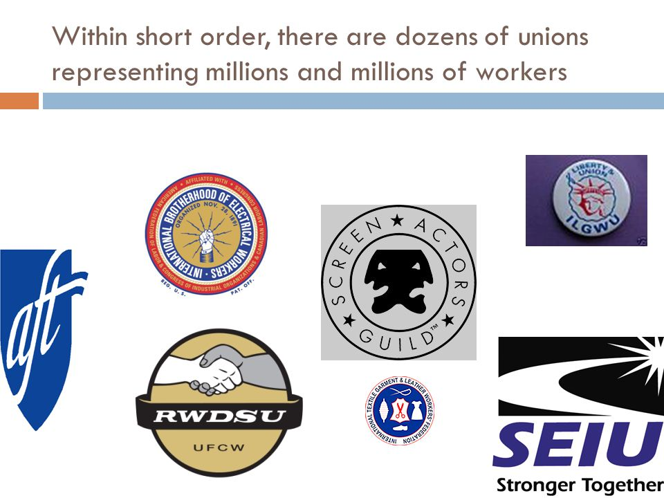Another Type of Unionism  a form of unionism that focuses on using collective bargaining to improve the wages, hours and working conditions of members who belong to a particular union WHILE also aggressively engaging in campaigns that will improve the conditions of the working class a whole.