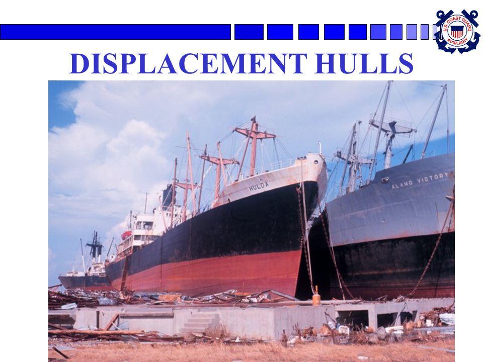 15 DISPLACEMENT HULLS