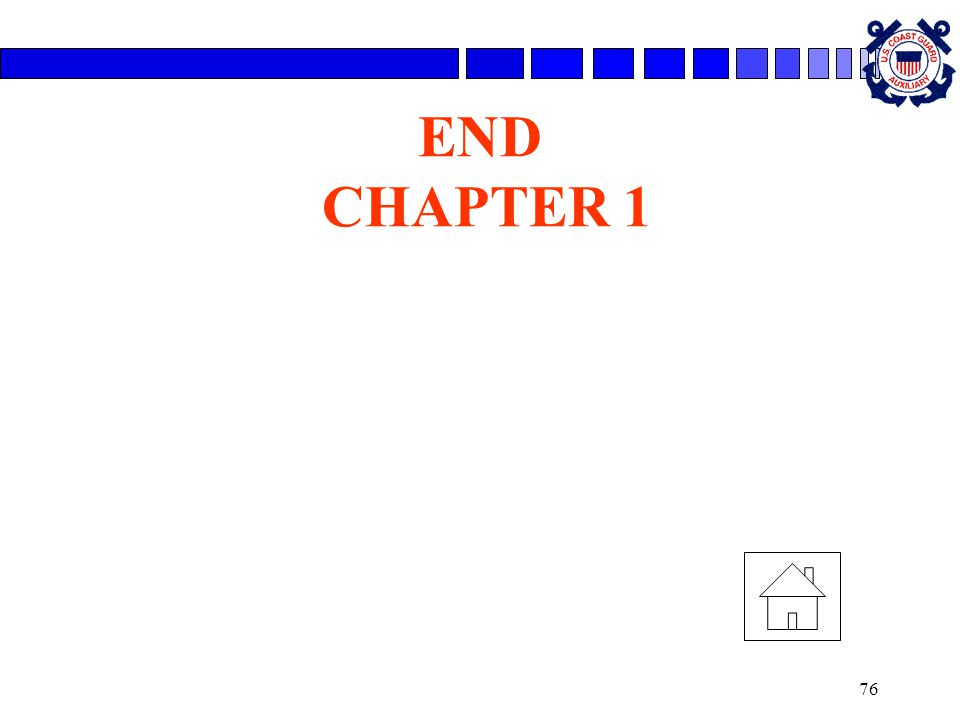 76 END CHAPTER 1