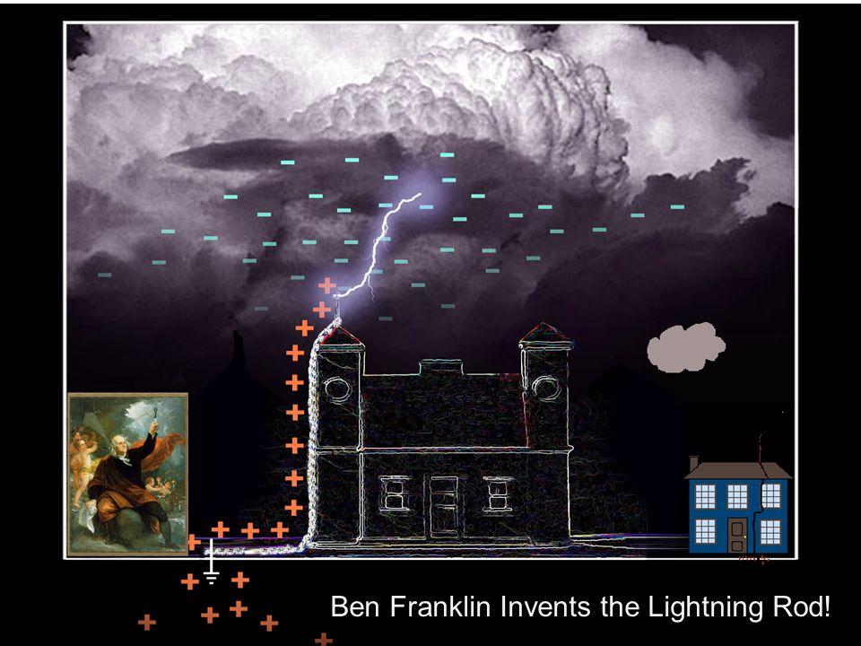 Ben Franklin Invents the Lightning Rod!