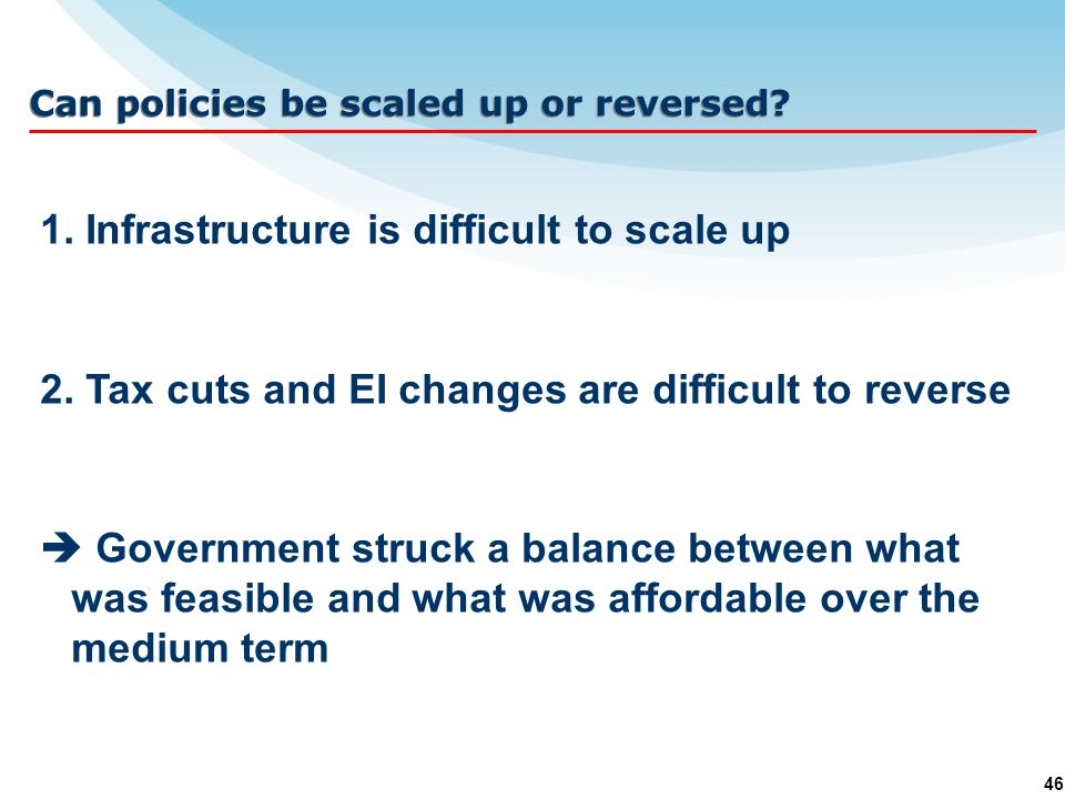 46 1. Infrastructure is difficult to scale up 2.