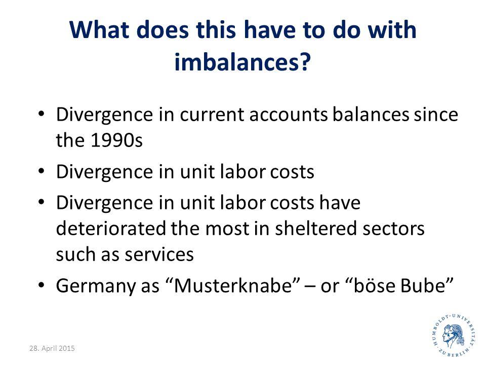 Source Brede (2011) 4 Unit labor costs, cumulative change, 1999-2008 D A SF F B NL I L P E EL IRL