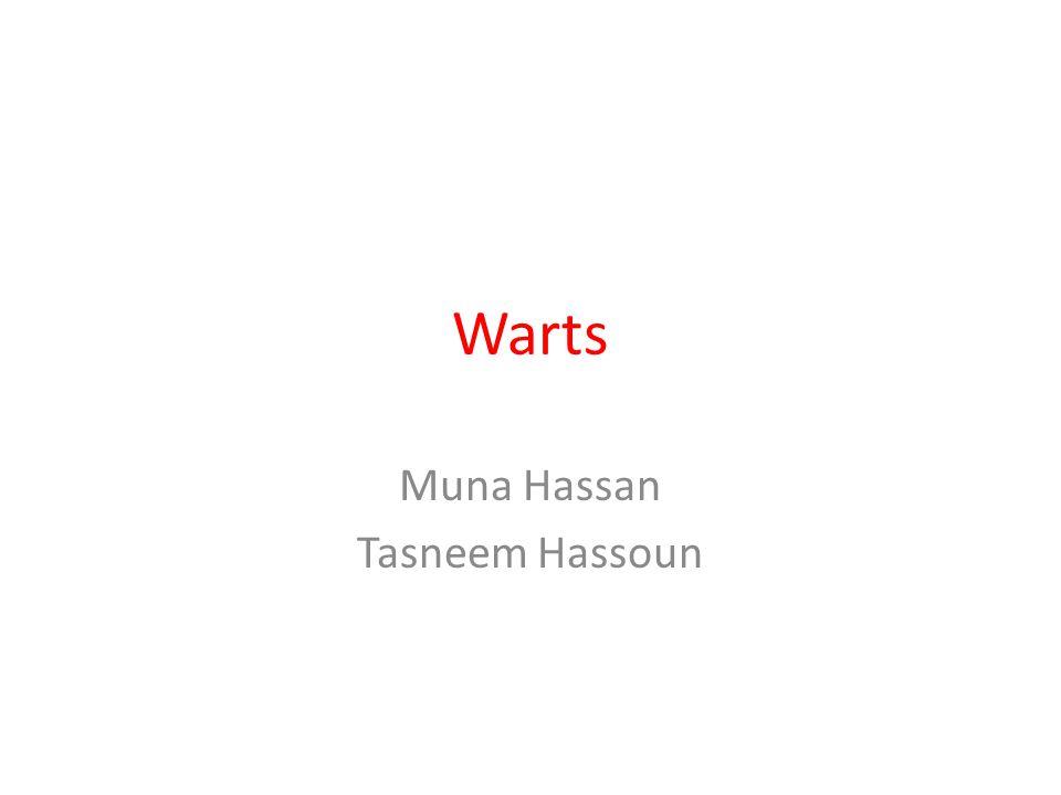 Warts Muna Hassan Tasneem Hassoun