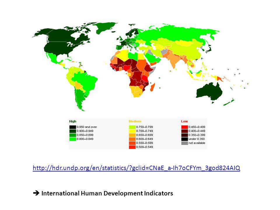 http://hdr.undp.org/en/statistics/ gclid=CNaE_a-Ih7oCFYm_3god824AIQ  International Human Development Indicators