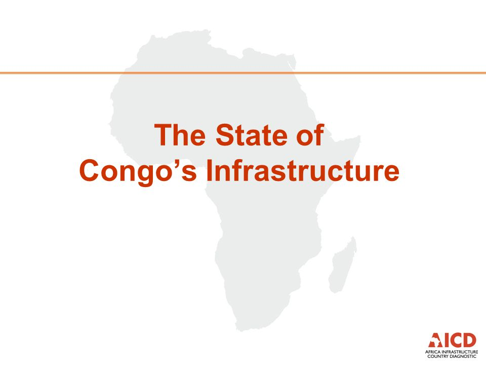 The State of Congo's Infrastructure