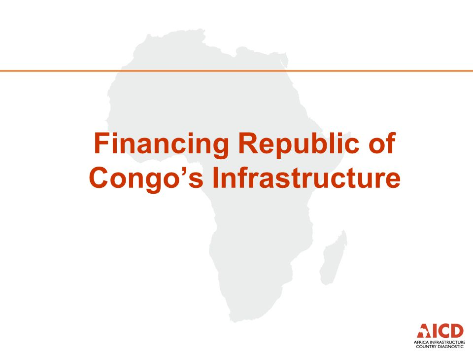 Financing Republic of Congo's Infrastructure