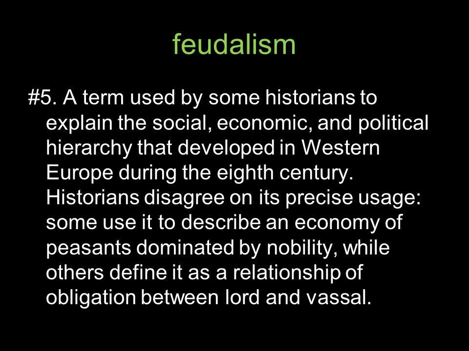 feudalism #5.