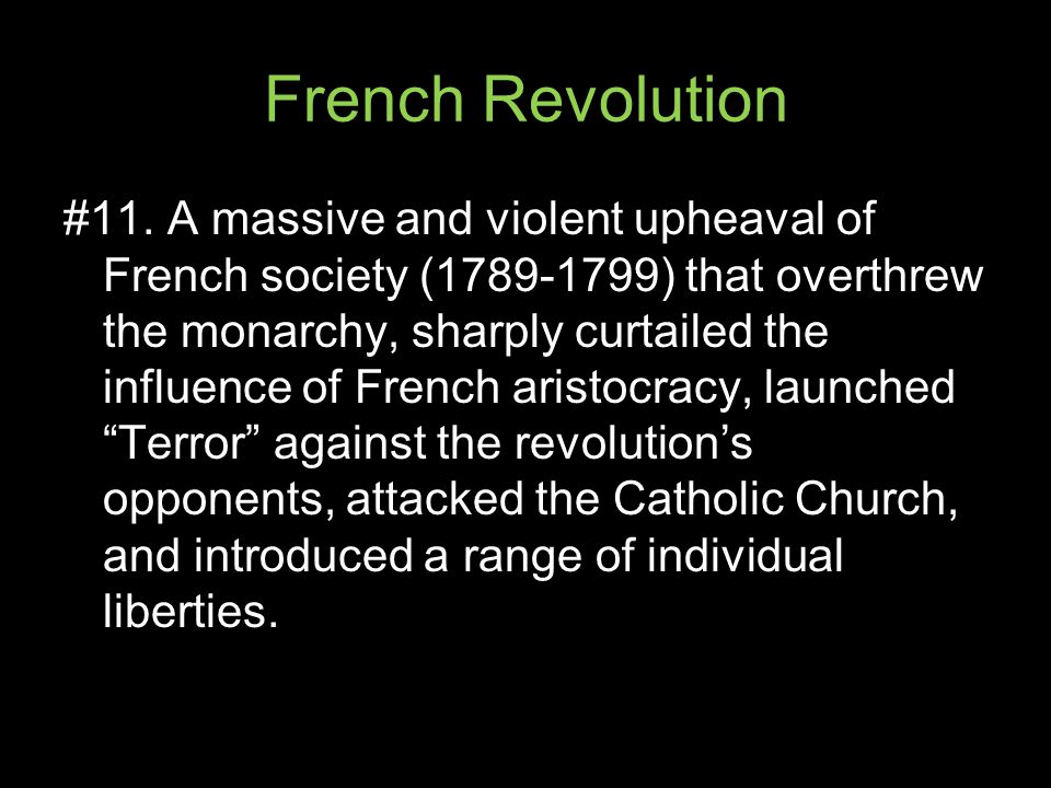 French Revolution #11.