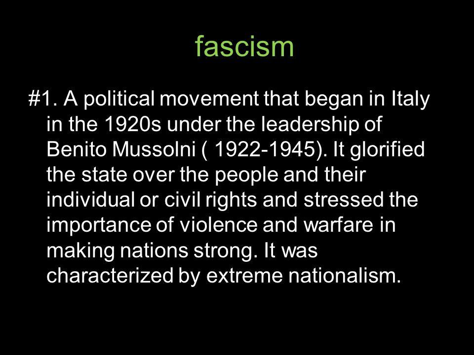 fascism #1.