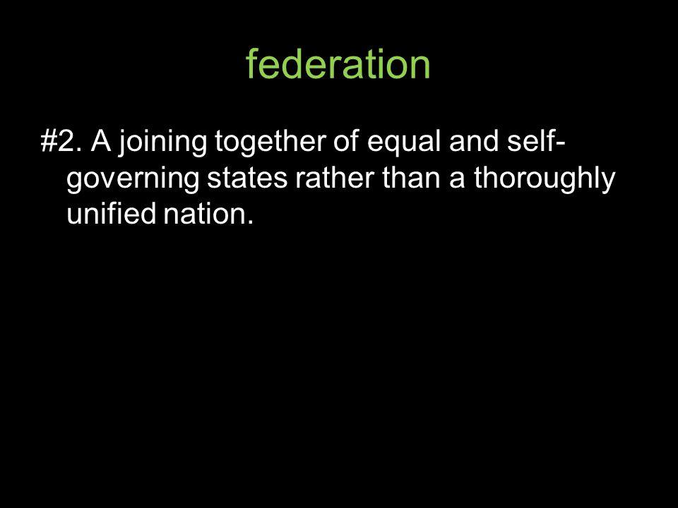 federation #2.