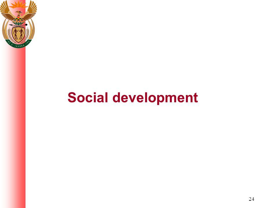 24 Social development
