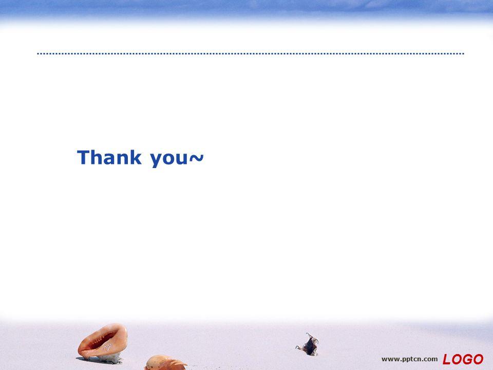 Thank you~ www.pptcn.com LOGO