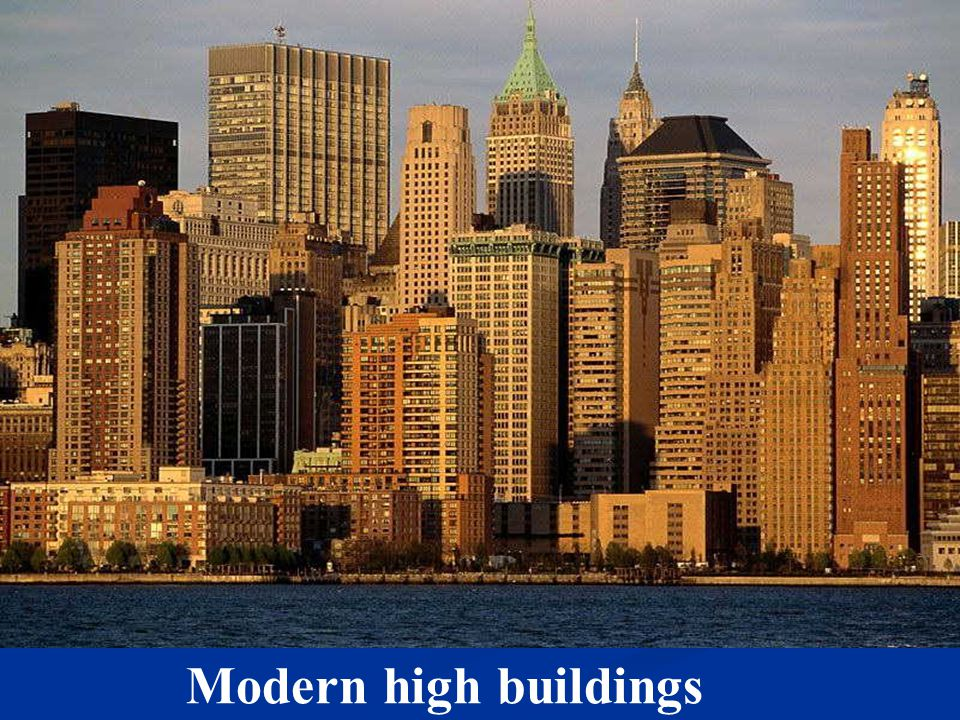 Unit 4 Buildings建筑物 Modern high buildings