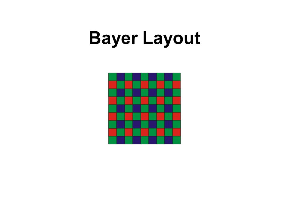 Bayer Layout