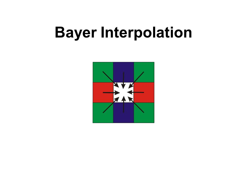 Bayer Interpolation