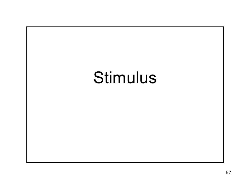 57 Stimulus
