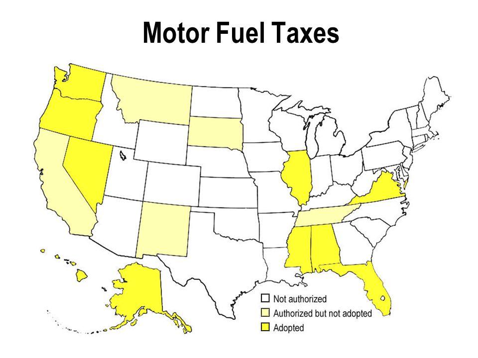 Motor Fuel Taxes