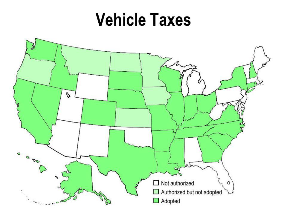 Vehicle Taxes