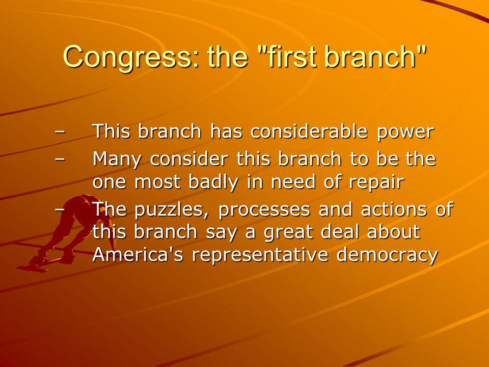 Congress: the