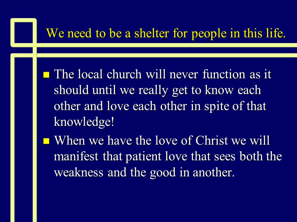 Will a child of God have need of refuge.n What is a refuge.