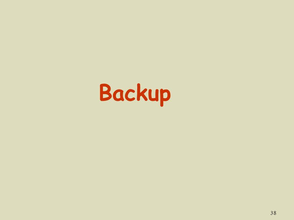 38 Backup