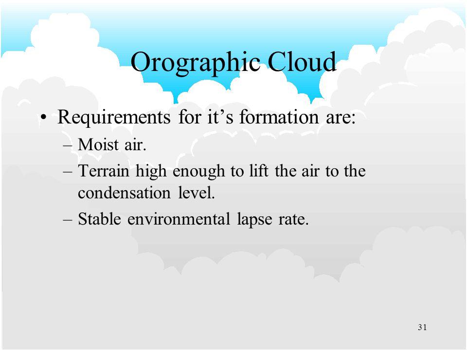 30 Large Cumulus Cloud Formation ELR Tropopause DPLR DALR SALR