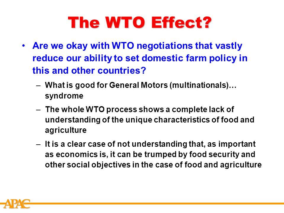 APCA The WTO Effect.