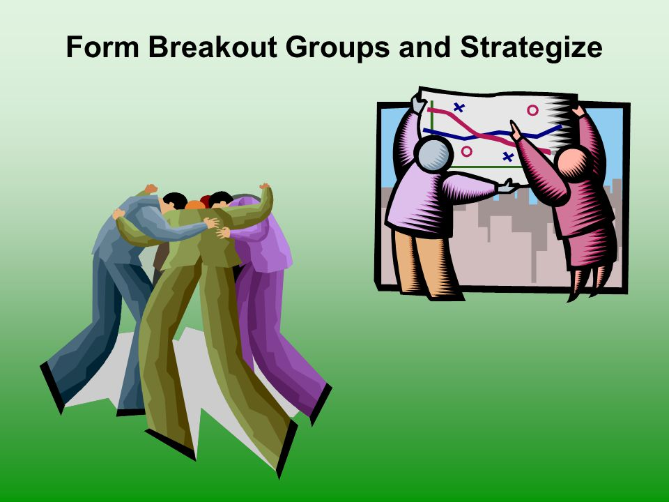 Form Breakout Groups and Strategize